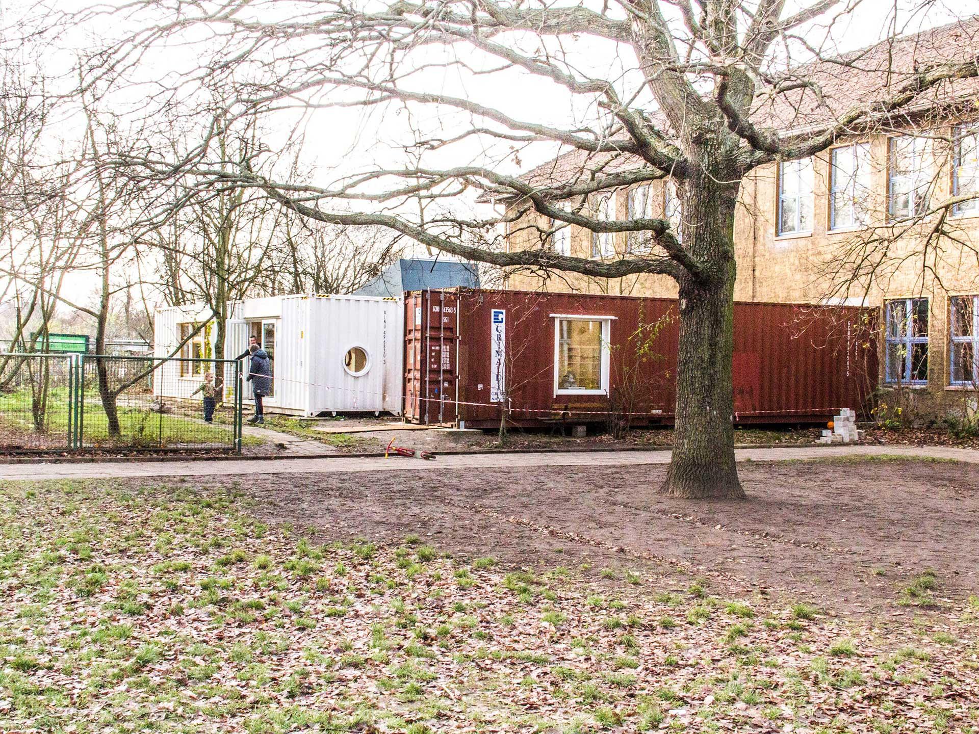 Anbau Kindergarten Riesenklein 7