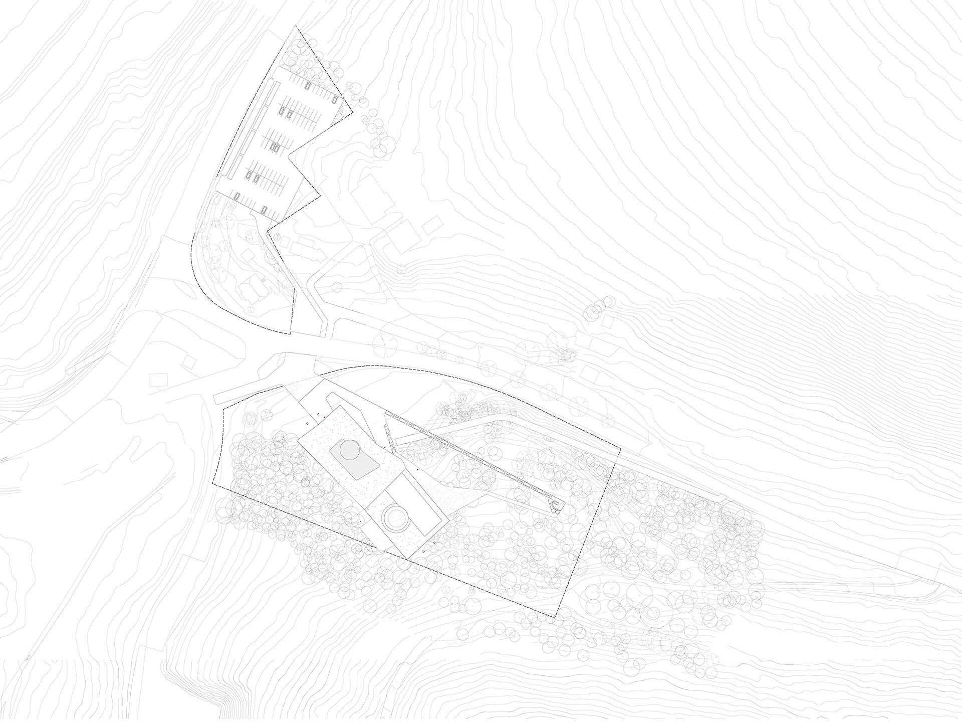 Infozentrum Schwarzwald Lageplan