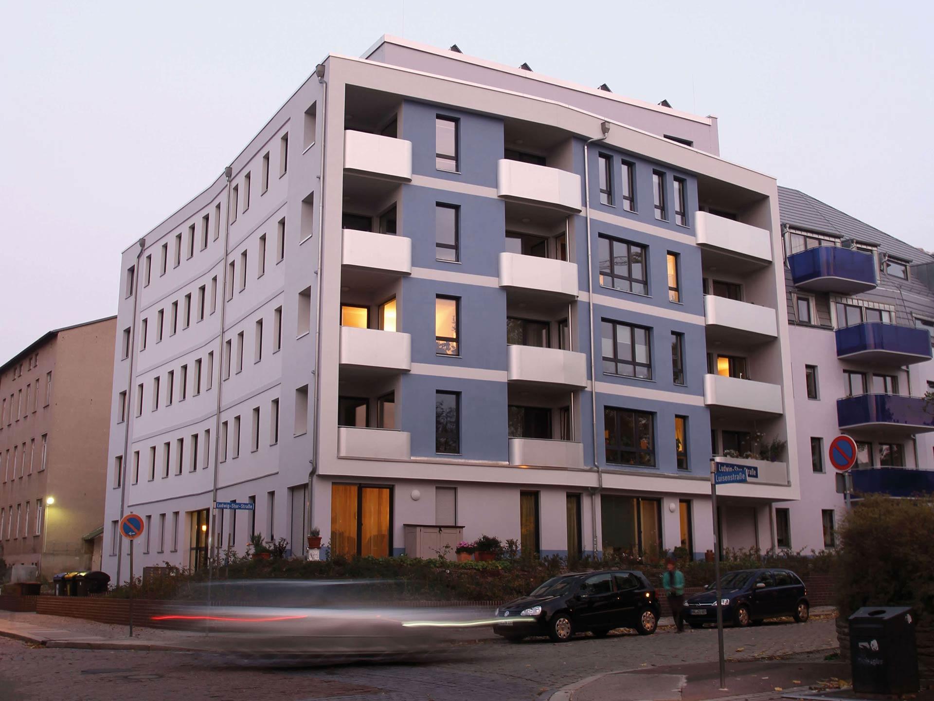 Neubau Haus Luisenstrasse 1