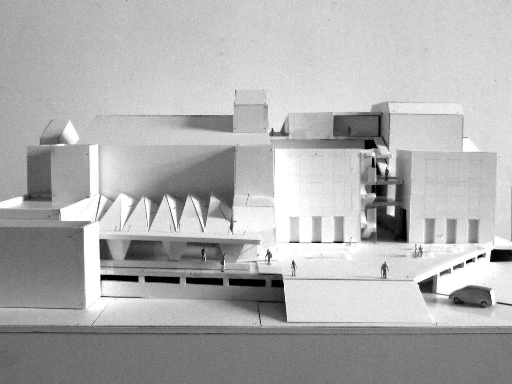 Steintorvariete Halle Modell