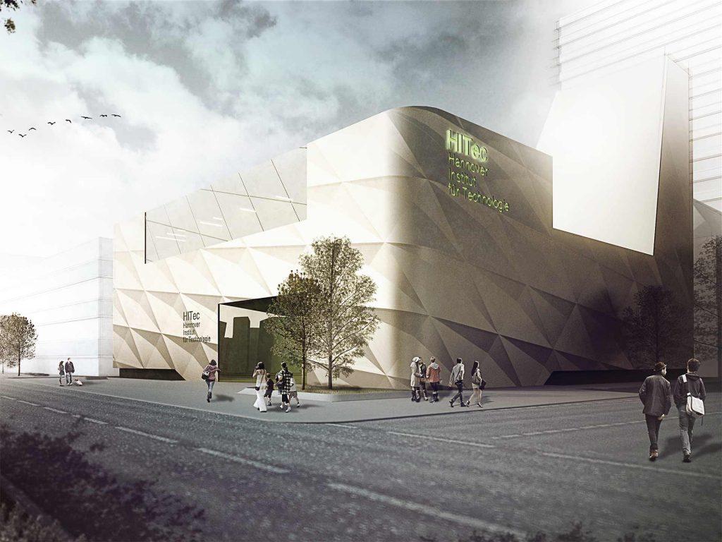 Technologiezentrum Hannover Ansicht (2)