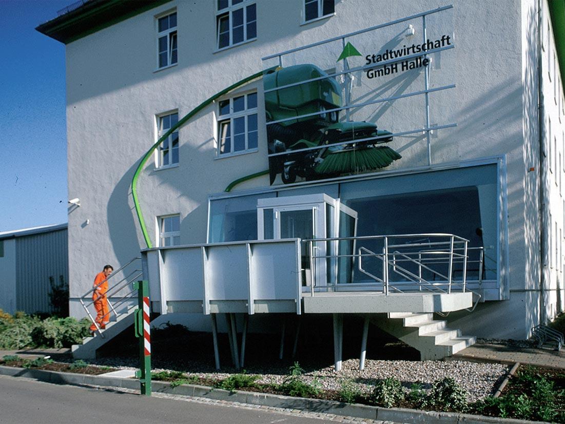 Umbau Stadtwirtschaft Halle 3 - 2