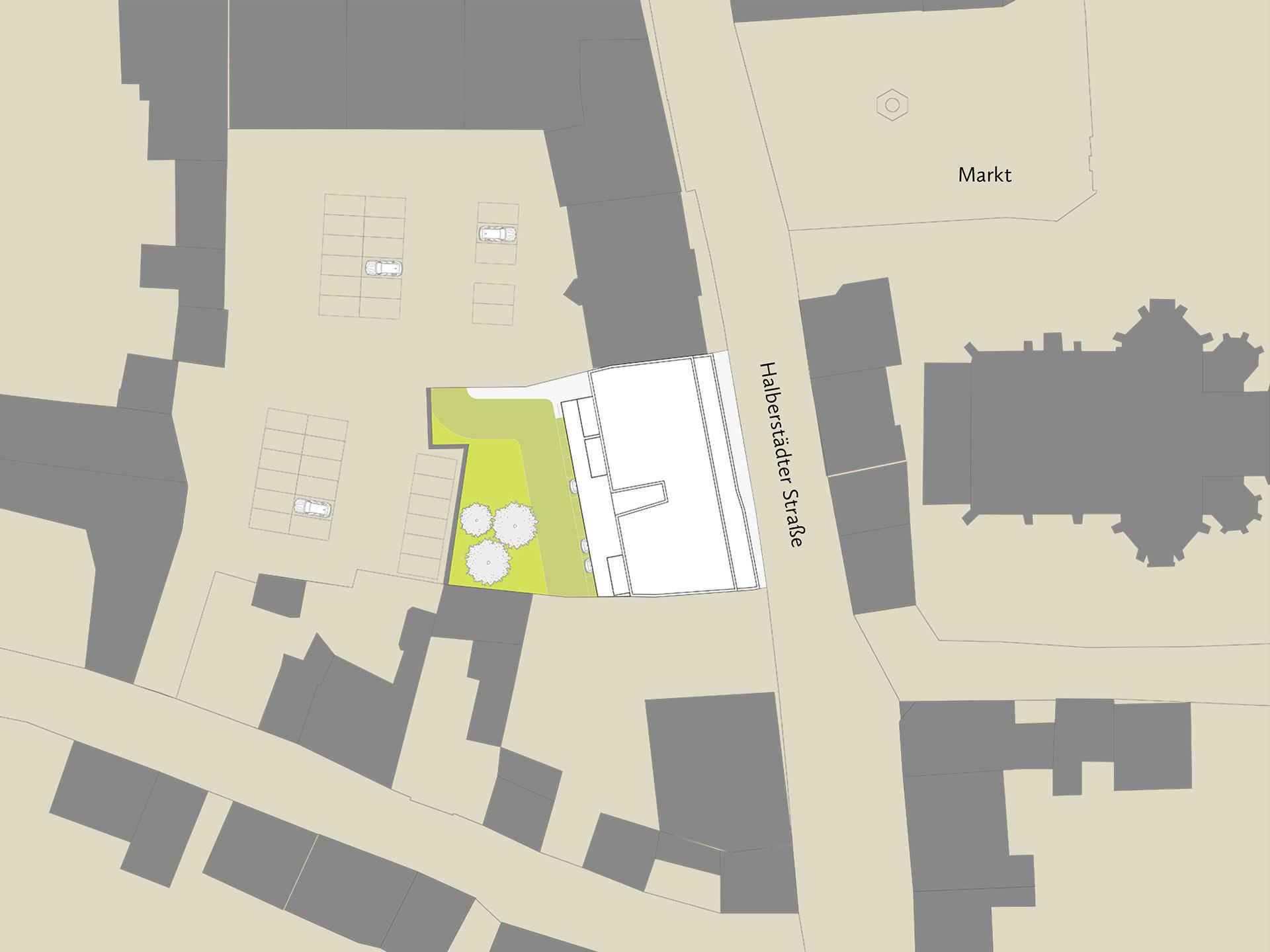 Wohnungsbau Oschersleben Lageplan